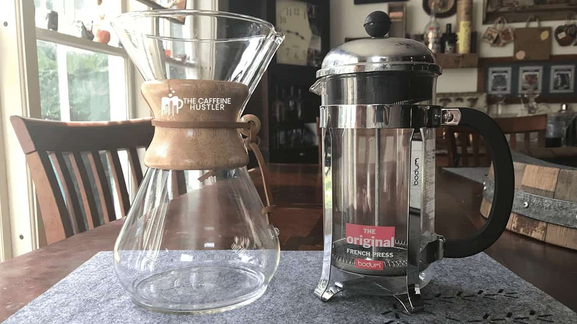 Chemex vs French Press: To Pour or to Plunge?