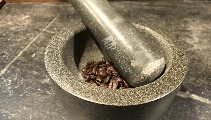 pestle and mortar coffee